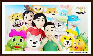 Hoala dan Koala Lagu dan animasi anak indonesia lagu anak di rumah saja hoala koala