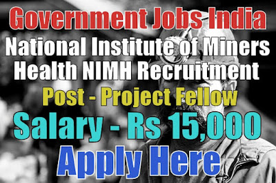 National Institute of Miners Health NIMH Recruitment 2017