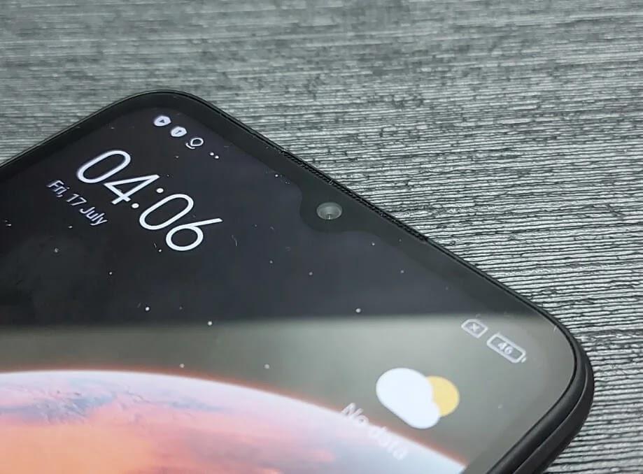 Xiaomi Redmi 9A 5MP f/2.2 Front Camera