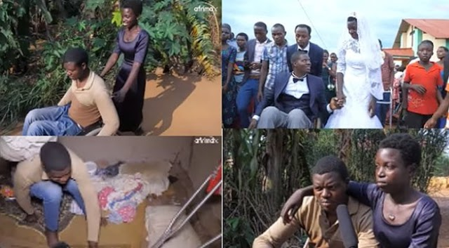How I met and married the love of my life despite being paralysed – Man shares (Video)