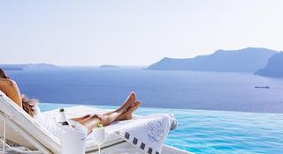 Santorini - Lua de mel: Destinos internacionais paradisíacos mais económicos