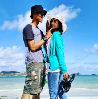 Pantai selatan di Lombok