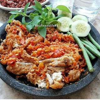 Ayam Geprek Tepung