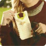 Estuche para lentes a Crochet