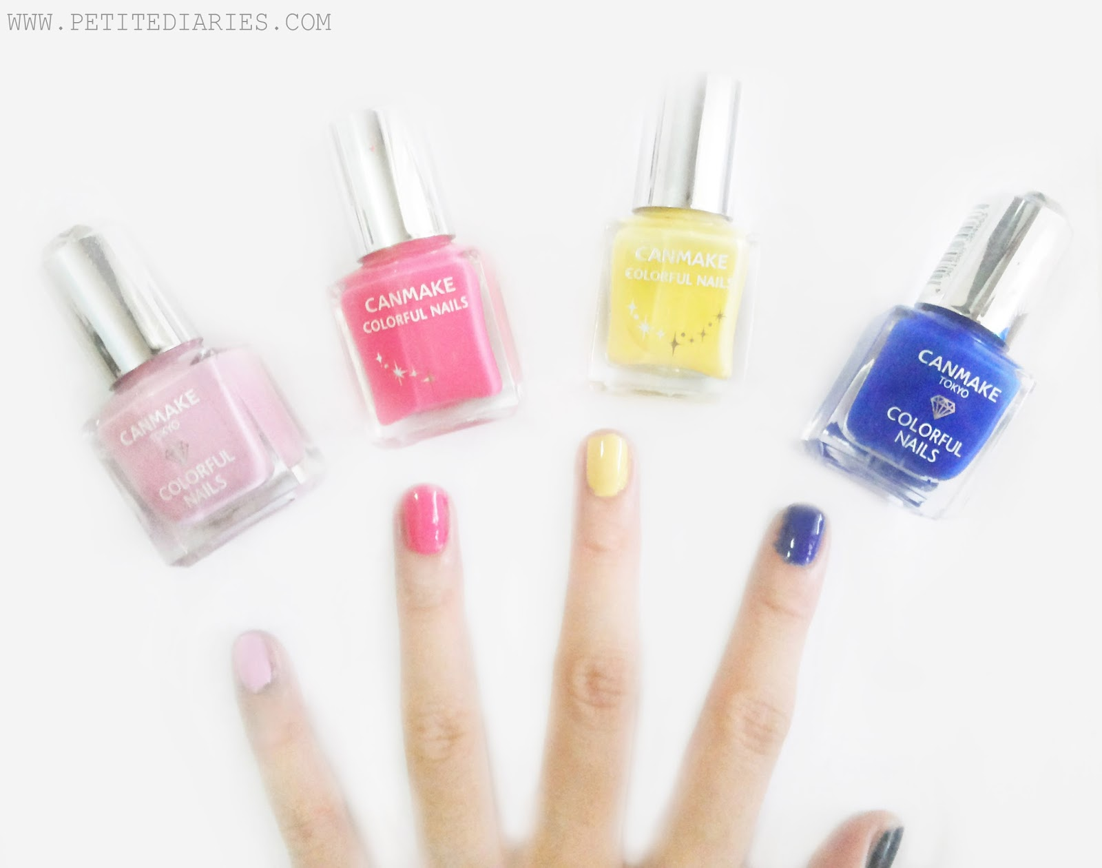 review canmake tokyo colorful nails