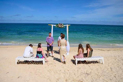 beach wedding, bliss beach, happiness, small beach wedding, special events, weddings, #payabay, #payabayresort, paya bay resort,