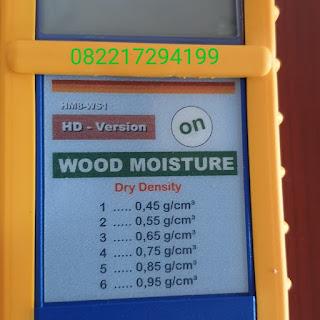 Wood Moisture Meter MERLIN HM8 WS1 Veneer - Cek Harga