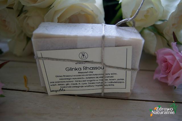 Bydgoska Wytwórnia Mydła - Mydło z białą glinką Rhassoul