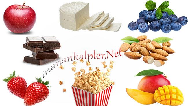 Atıştırmalık Sağlıklı 8 Gıda - www.inanankalpler.net