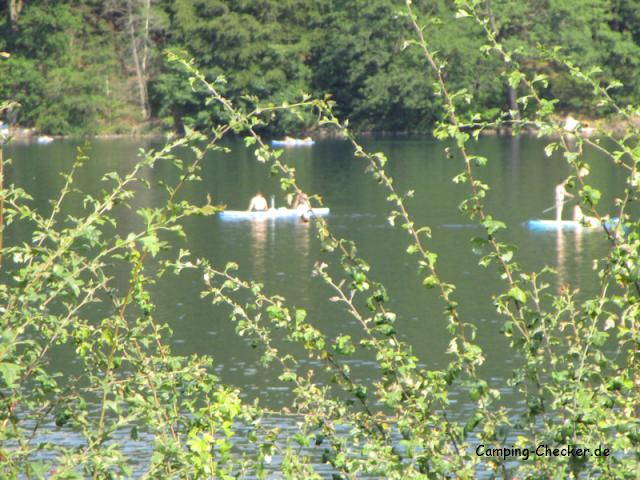 Wassersport auf der Listertalsperre