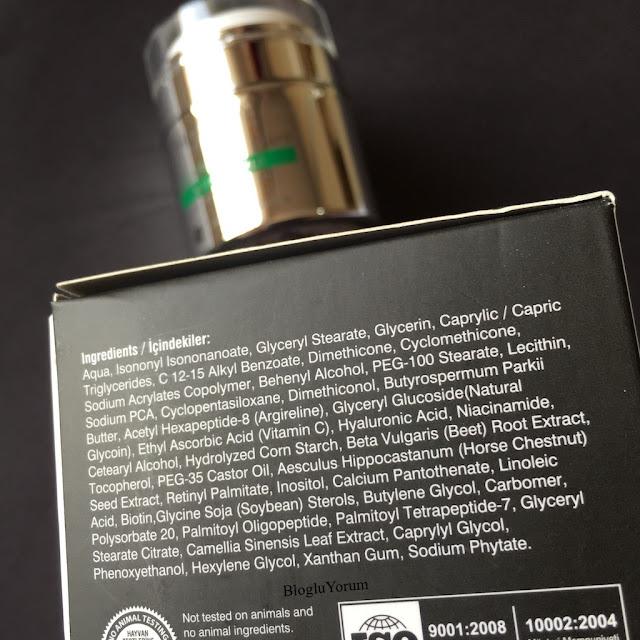 HC anti wrinkle krem kırışıklık karşıtı bakım kremi içerik