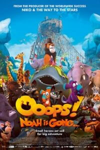 Ooops! Noah Is Gone 2015 Dual Audio [Hindi - English] 480p BluRay 300MB movie free Download