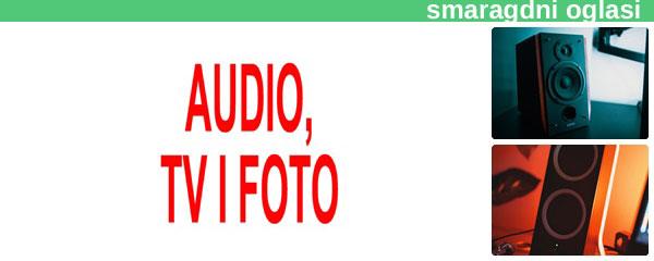 - PRODAJA AUDIO, TV, FOTO TEHNIKE SMARAGDNI OGLASI - 5.