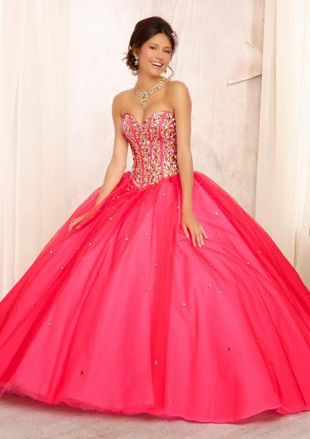 vestido de festa de 15 anos