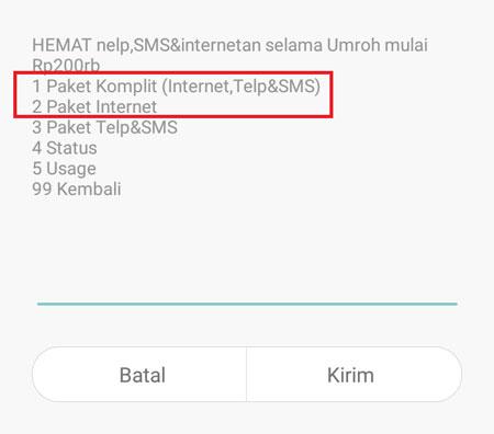 Paket Promo Umroh Indosat Cara Aktif Data Internet Roaming