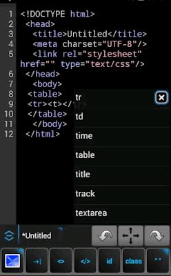 Webmaster HTML Editor