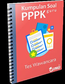 Kumpulan Soal PPPK Guru - Tes Wawancara - www.gurnulis.id