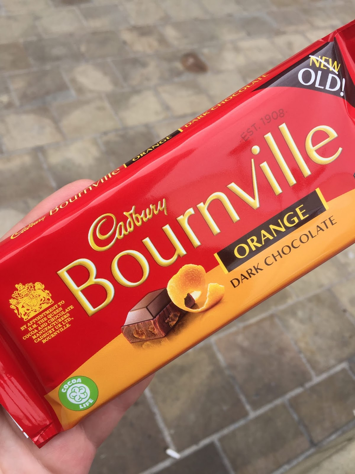 Newold Cadbury Bournville Orange Dark Chocolate