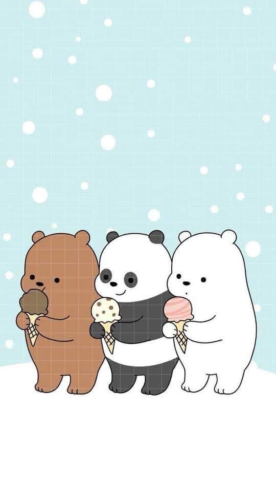 Sharing Together 20 Cute We Bare Bears Wallpapers For Your