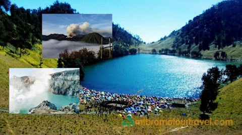 Trekking Kumbolo, Mt Bromo and Ijen Crater Package 4 days