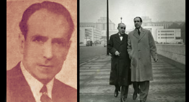 Maximiliano Martínez Moreno junto a Gordon Ordas en París