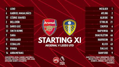 Arsenal Vs Leeds : Premier League Live Stream