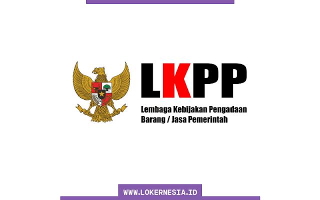 Lowongan Kerja LKPP Agustus 2021