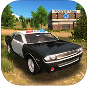 Police Car driving Offroad 4x4