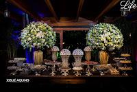 casamento com cerimônia recepção e festa no salão principal do clube veleiros do sul em porto alegre com decoração rústico-chic em estilo clássico nas cores branco fendi e dourado por life eventos especiais