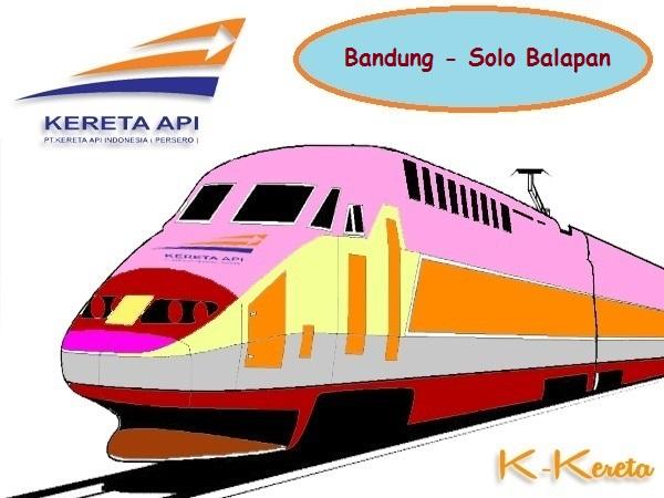 Info Jadwal Dan Harga Tiket Kereta Api Bandung Ke Solo Balapan