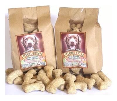Galletas antisarro para perros