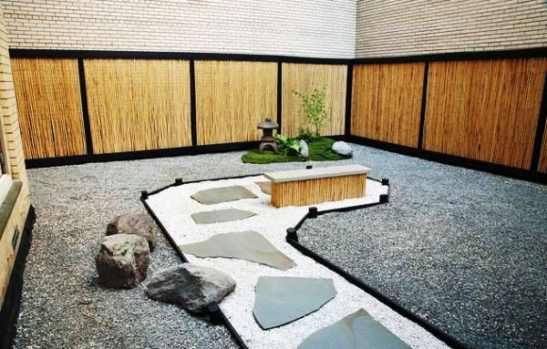 Contoh Desain Taman Bergaya Jepang