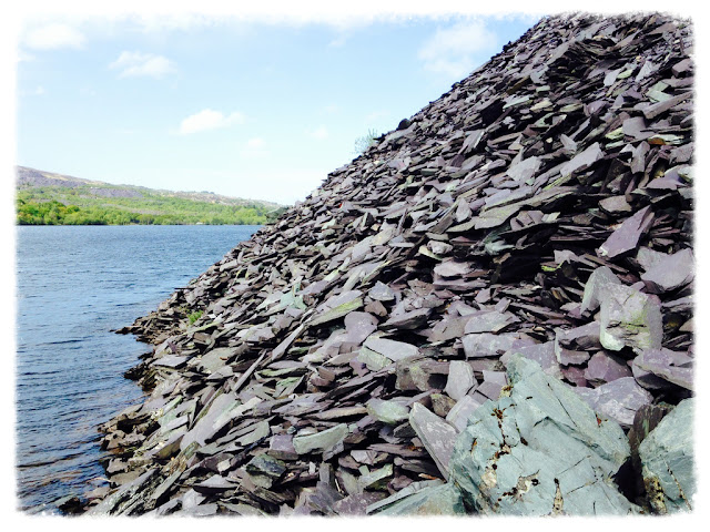 Slate in North wales