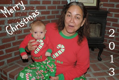 Merry Christmas 2013 from Reef & Oma (http://www.chasing-fireflies.com)