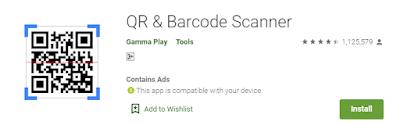 Cara Scan Kode QR dan Barcode Menggunakan Android
