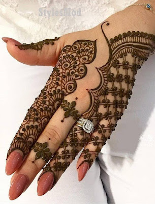 75+ Latest arabic mehndi designs for hands