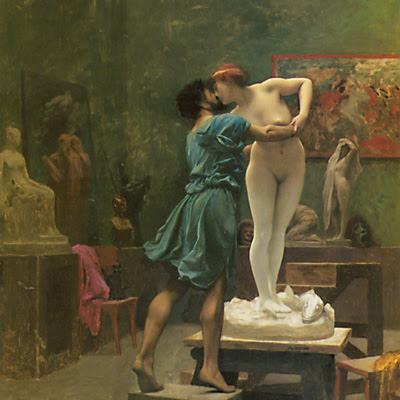 """""""Pygmalion et Galatée"""" di Jean-Léon Gérôme"""
