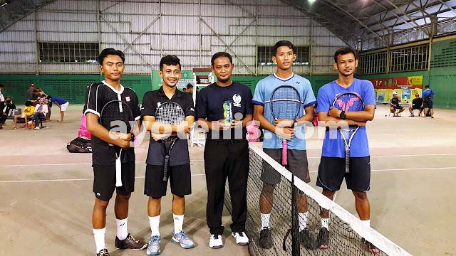 Ari Fahresi/Rizky Widianto Juara PELTI Sidoarjo Tennis Tournament 2020