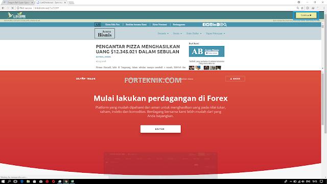 Cara Download File Elsfile Menggunakan Komputer/Laptop Di Situs Forteknik.com