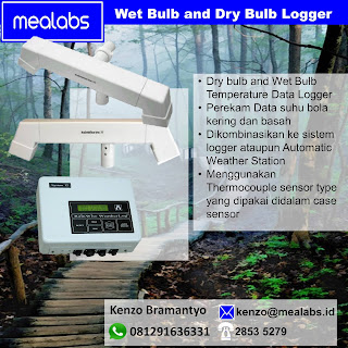 Wet Bulb Dry Bulb Temperature Data Logger