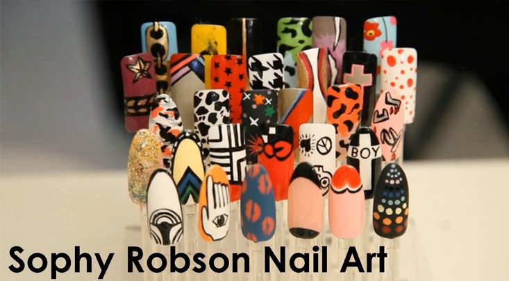 Sophy Robson Nails Design