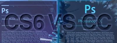 Comparison Photoshop CS6 VS Photoshop CC