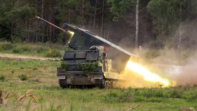 РСЗВ MARS II / M270A1 MLRS. фото Бундесверу