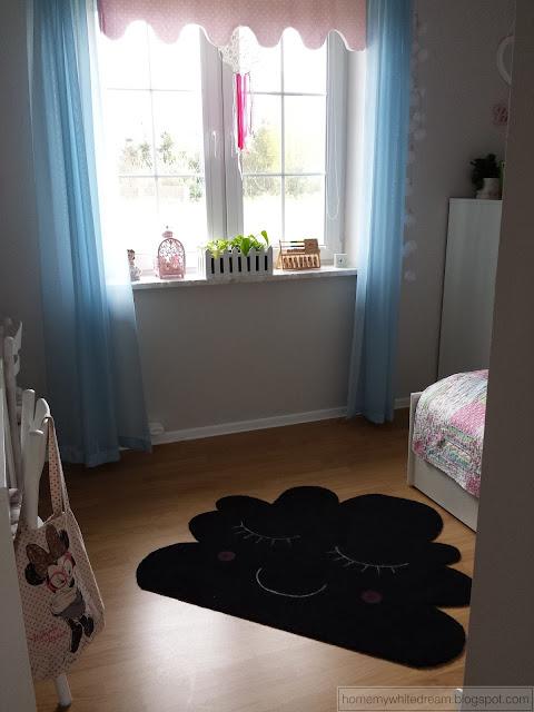 Dywan chmurka, dywanik chmura, dywanik do pokoju dziecięcego, dywan dla dziewczynki