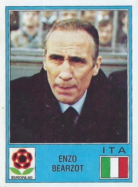 Figurina Enzo Bearzot Europa 80