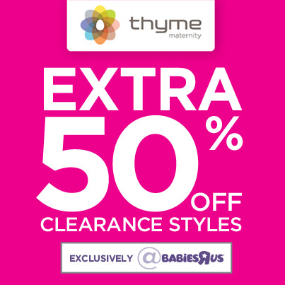 Savvy Spending Babies R Us Thyme Maternity Clothes