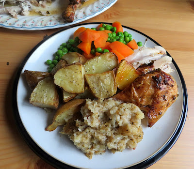 Grandmother's Roast Chicken & Gravy