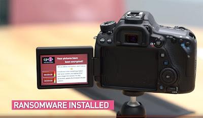 Vulnerabilidade em câmera fotográfica da Canon permite instalar vírus de resgate