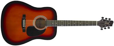 Giá Bán Cây Đàn guitar Acoustic Stagg SW203-VS (Dáng tròn)