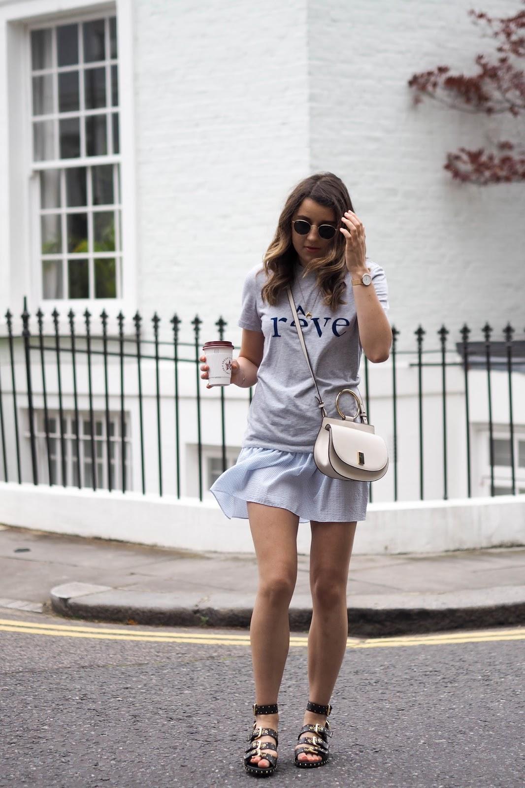92bc38933a7 Summer Stripes & Slogan Tees | What's In Her Wardrobe | Bloglovin'